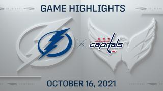 NHL Highlights: Lightning 2, Capitals 1 (OT)