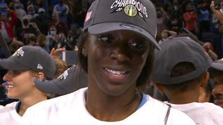 WNBA Finals MVP Copper explains how she made her dream come true
