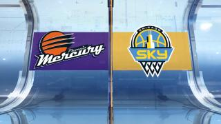 Game 4 Highlights: Sky 80, Mercury 74