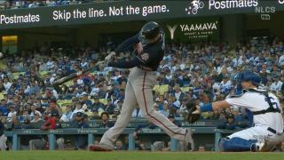 Freeman launches two-run home run in first inning of Game 5 vs. Dodgers