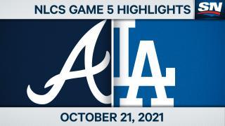 Game 5 Highlights: Dodgers 11, Braves 2