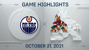NHL Highlights: Oilers 5, Coyotes 1