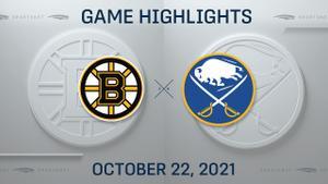 NHL Highlights: Bruins 4, Sabres 1