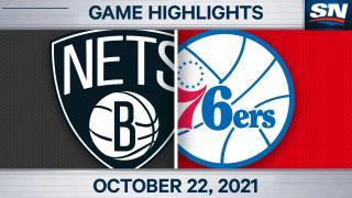 NBA Highlights: Nets 114, 76ers 109