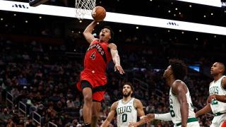 Scottie Barnes put on a show for Raptors in second NBA game