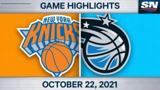 NBA Highlights: Knicks 121, Magic 96