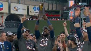 Alvarez wins ALCS MVP award