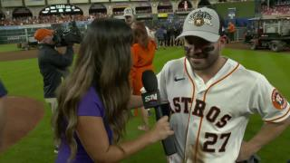 Jose Altuve says Astros wanted to win ALCS for Dusty Baker