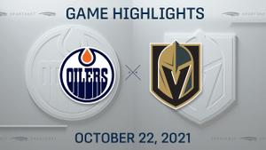 NHL Highlights: Oilers 5, Golden Knights 3