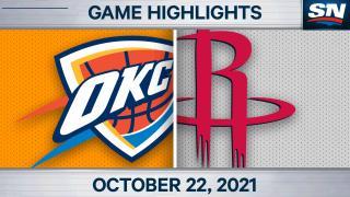 NBA Highlights: Rockets 124, Thunder 91