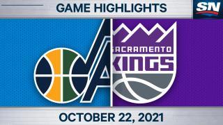 NBA Highlights: Jazz 110, Kings 101