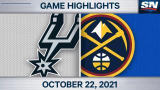 NBA Highlights: Nuggets 102, Spurs 96