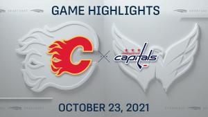 NHL Highlights: Flames 4, Capitals 3 (OT)