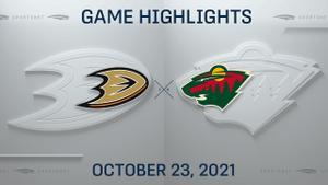 NHL Highlights: Wild 4, Ducks 3 (OT)