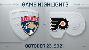 NHL Highlights: Panthers 4, Flyers 2