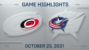 NHL Highlights: Hurricanes 5, Blue Jackets 1