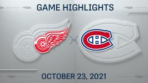 NHL Highlights: Canadiens 6, Red Wings 1