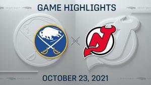 NHL Highlights: Devils 2, Sabres 1 (OT)