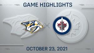 NHL Highlights: Jets 6, Predators 4