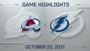 NHL Highlights: Avalanche 4, Lightning 3 (SO)