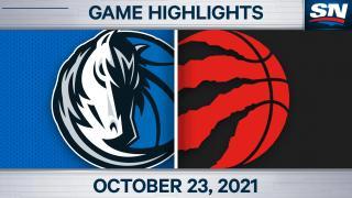 NBA Highlights: Mavericks 103, Raptors 95
