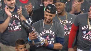 Rosario wins NLCS MVP award