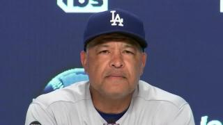 Dave Roberts credits Braves for outplaying Dodgers in NLCS