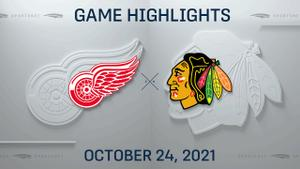 NHL Highlights: Red Wings 6, Blackhawks 3
