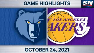Highlights: Lakers 121, Grizzlies 118