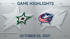 NHL Highlights: Blue Jackets 4, Stars 1