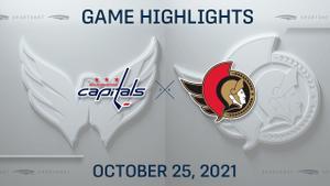 NHL Highlights: Capitals 7, Senators 5