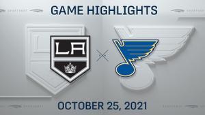 NHL Highlights: Blues 3, Kings 0