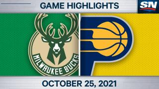 Highlights: Bucks 119, Pacers 109