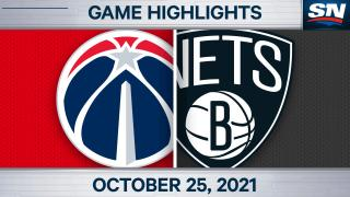Highlights: Nets 104, Wizards 90