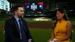 Anthopoulos excited to experience his first World Series with Atlanta
