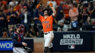 Astros get back in the groove of things after game one wake up call