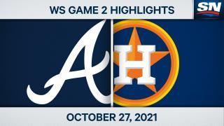 Game 2 Highlights: Astros 7, Braves 2