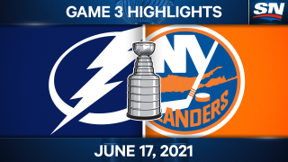 Point & Gourde score two scrappy goals to take Game 3 against Islanders